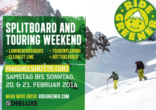 Splitboard Ski-Touring Weekend 2016